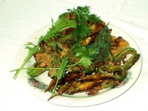 блюдо Кабачки в пивном кляре