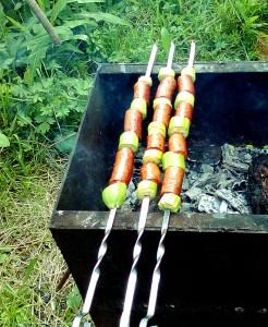 Как быстро приготовить шашлык