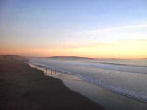 пляж в Лос-Анджелеса