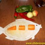 Как порезать морковь соломкой