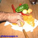 Нарезка морковки соломкой 2