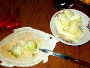 Глазунья с овощами 4