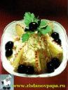 салат капустный с соусом Буяд