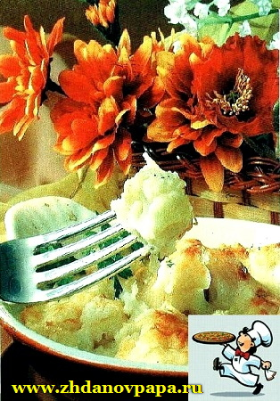 капуста в сырном соусе