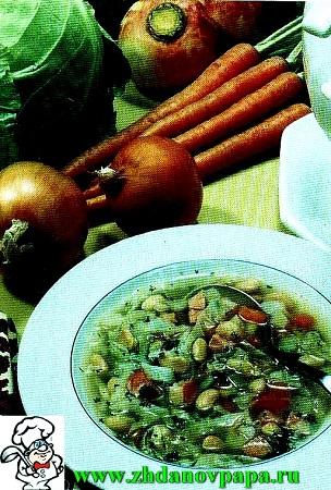 мясной суп по-фински
