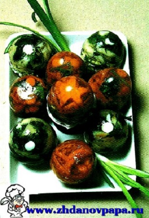 Желе из овощей и грибов