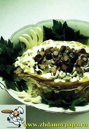 Галантин из овощей