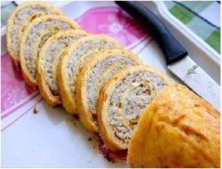 Куриный рулет – вкусная и красивая закуска!